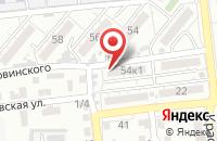 Схема проезда до компании АстраЭнергоРесурс в Астрахани