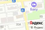 Схема проезда до компании Техновыгода в Астрахани