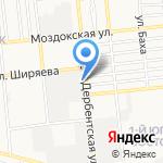 Автодиагноз на карте Астрахани