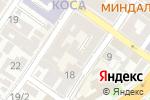 Схема проезда до компании Лига в Астрахани