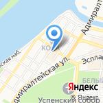 Donna Farfalla на карте Астрахани