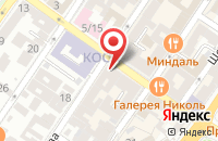 Схема проезда до компании Donna Farballa в Астрахани