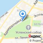 Никольский Надвратный Храм на карте Астрахани