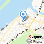 Астраханский театр кукол на карте Астрахани