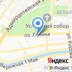 Адвокатская контора Кировского района г. Астрахани на карте Астрахани