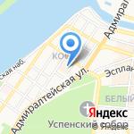 Медик на карте Астрахани