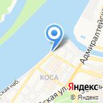 Киоск по продаже мороженого на карте Астрахани