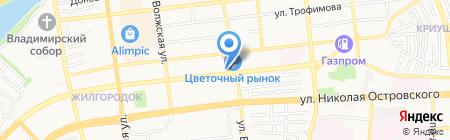 Безопасность бизнеса на карте Астрахани