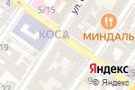 Схема проезда до компании Donna Farfalla в Астрахани
