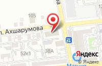 Схема проезда до компании Газпром газораспределение Астрахань в Астрахани