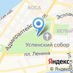 Православная гимназия на карте Астрахани