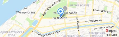 Расчетно-информационный центр на карте Астрахани