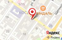 Схема проезда до компании Судейский.рф в Астрахани
