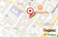 Схема проезда до компании Профкурорт в Астрахани