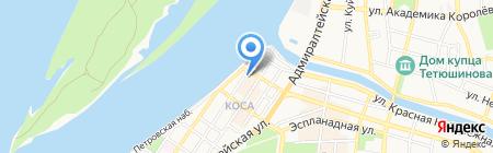 Европа Стиль на карте Астрахани