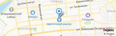 Астраханьоблгаз на карте Астрахани