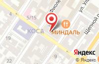 Схема проезда до компании КОРПОСИСТЕМ в Астрахани
