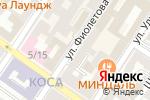 Схема проезда до компании Южная сторона в Астрахани