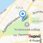 Кирилловская часовня на карте Астрахани