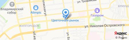 Управдом на карте Астрахани