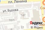 Схема проезда до компании ИНДИГУС в Астрахани