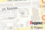 Схема проезда до компании Качок в Астрахани