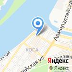 Миграционно-визовый центр на карте Астрахани