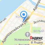 Министерство образования и науки Астраханской области на карте Астрахани