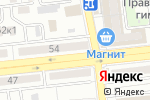 Схема проезда до компании Безопасность бизнеса в Астрахани