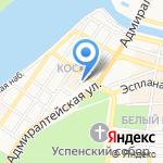 Музей истории города на карте Астрахани