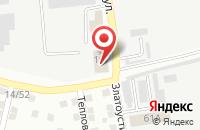 Схема проезда до компании Служба проката свадебного транспорта в Астрахани
