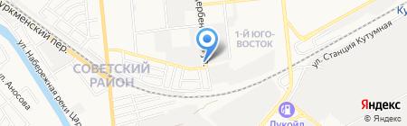 Центр кузовного ремонта и подбора автоэмалей на карте Астрахани