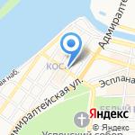 Министерство физической культуры и спорта Астраханской области на карте Астрахани