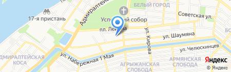 INDIGUS на карте Астрахани