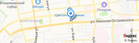 Роскошные волосы на карте Астрахани