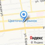 Средняя общеобразовательная школа №14 на карте Астрахани