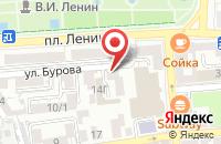 Схема проезда до компании Штурман в Астрахани