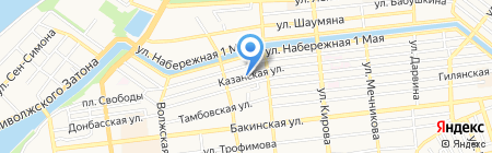 21 век на карте Астрахани