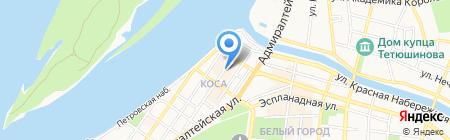 Сибирское здоровье на карте Астрахани