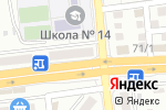 Схема проезда до компании Любимчик в Астрахани