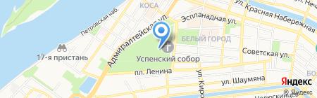 Миссионерский отдел на карте Астрахани