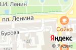 Схема проезда до компании Pay. Travel в Астрахани