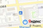 Схема проезда до компании Сакура в Астрахани
