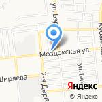 Альтаир и Компания на карте Астрахани