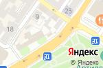 Схема проезда до компании Финанс Гарант в Астрахани