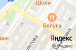 Схема проезда до компании Сеть магазинов рыбной продукции в Астрахани