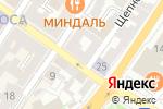 Схема проезда до компании London в Астрахани