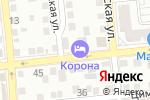 Схема проезда до компании Crown в Астрахани