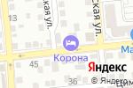 Схема проезда до компании Crown-club в Астрахани