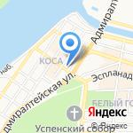 London на карте Астрахани